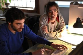 """""""Empezamos a estudiar montaje porque creímos que era la escritura más genuina del cine"""". Entrevista a Luis de la Madrid y JordiLópez"""