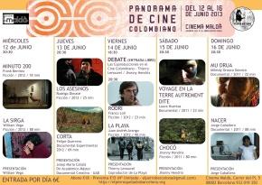 Llega a Barcelona, del 12 al 16 de Junio, el Panorama de Cine (¡inédito!)Colombiano
